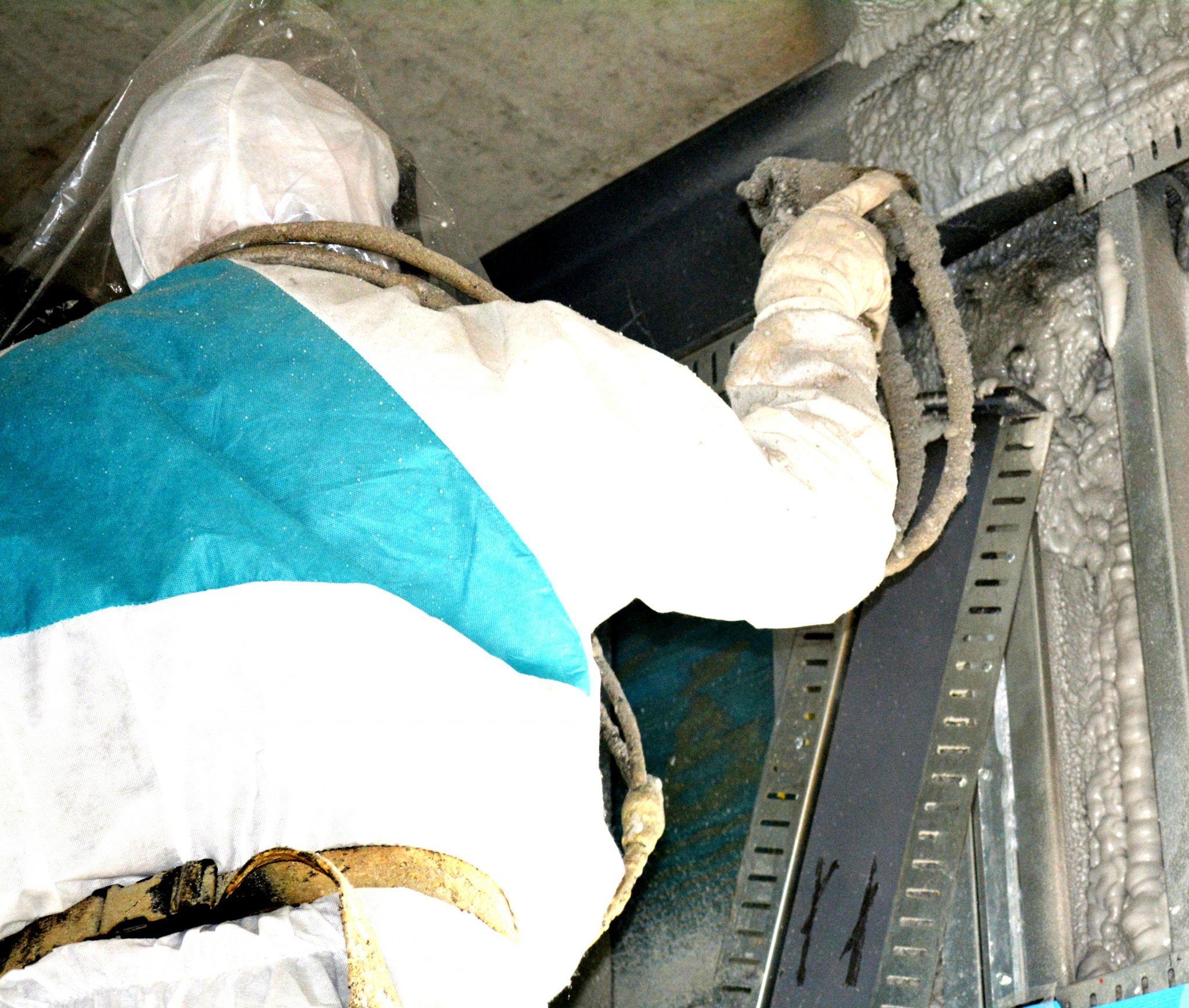 Your insulation needs replacing? Spray Foam is a great alternative.