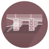Crawl Spaces Icon for Spray Foam Insulation