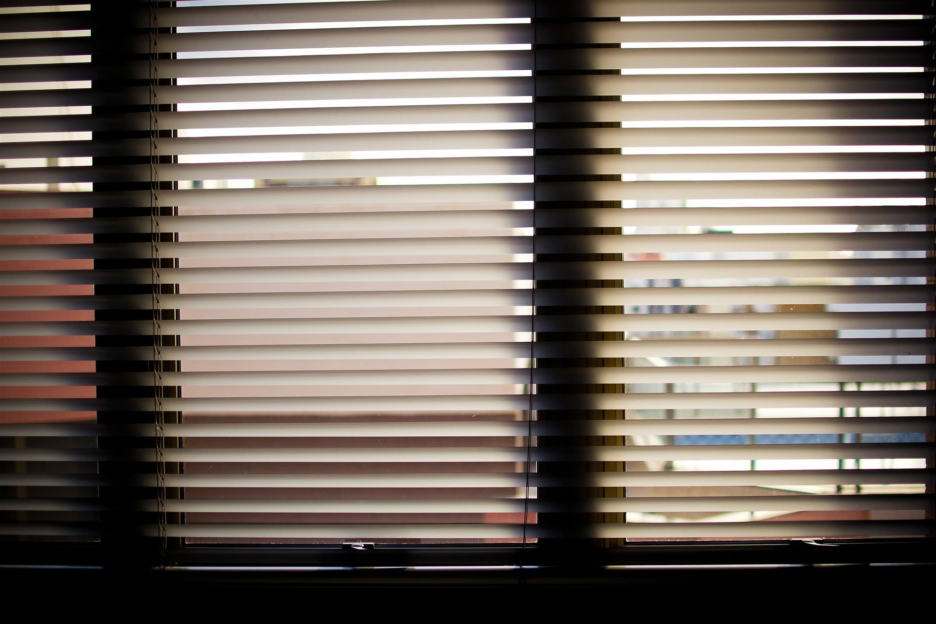 Energy saving tip: Draw the blinds to block out the sunlight on extremely hot summer days.